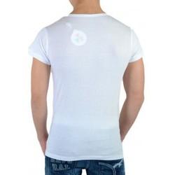 Vêtements Femme T-shirts manches courtes Eleven Paris Wimp SS Mixte (garçon / fille) Blanc