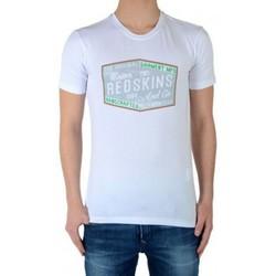 Vêtements Garçon T-shirts manches courtes Redskins Tee Shirt  Creg Blanc Blanc