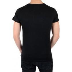 Vêtements Homme T-shirts manches courtes Eleven Paris Tee Shirt Kanye SS Mixte (Garçon / Fille) Noir Noir