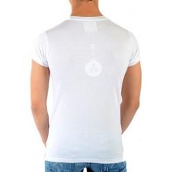 Vêtements Homme T-shirts manches courtes Eleven Paris Shere Khan SS Mixte (Garçon / Fille) Blanc