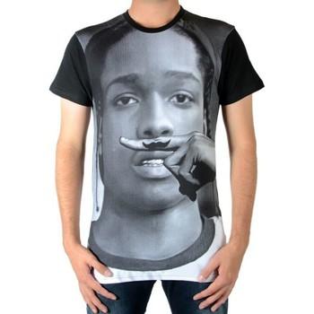 T-shirts manches courtes Eleven Paris Tee Shirt  Morki M Asap Rocky Noir