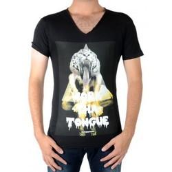 Vêtements Homme T-shirts manches courtes Eleven Paris Anice Noir