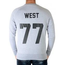 Vêtements Homme Sweats Eleven Paris Sweat Fix Hest SW Gris Chiné Gris