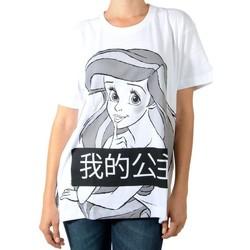 Vêtements Femme T-shirts manches courtes Eleven Paris Dariel W Blanc