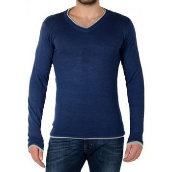 Vêtements Homme Pulls Deeluxe Pull W14337 Necky Blue Mel Bleu