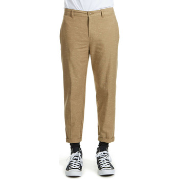 Pantacourts Obey Pantalon  Latenight Neps Beige Homme