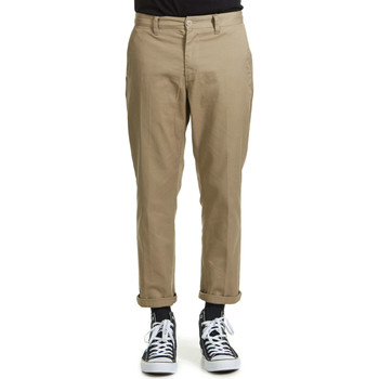 Vêtements Homme Chinos / Carrots Obey Pantalon  Staggler Flodded Beige Homme Beige