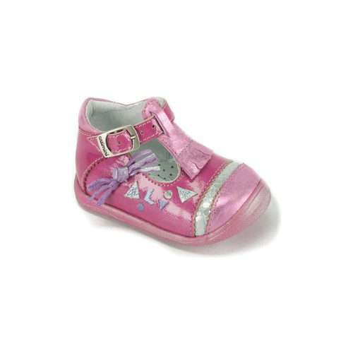 Chaussures Fille Ballerines / babies Catimini Babies  Fille rose CANETTE rose