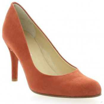 Chaussures Femme Escarpins Elizabeth Stuart Escarpins cuir velours Orange