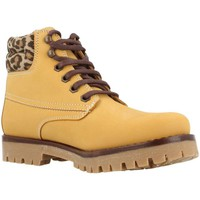 Chaussures Fille Boots Alpe 6368 27 Jaune