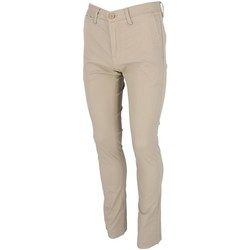 Vêtements Garçon Chinos / Carrots Teddy Smith Chino beige pant jr Beige
