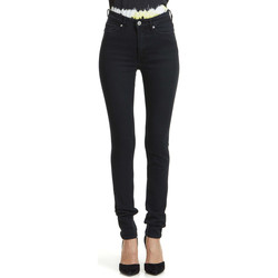 Jeans slim Cheap Monday Jeans  High Snap Skinny Gris Fonce Femme
