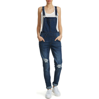 Combinaisons / Salopettes Cheap Monday Salopette En Jean  Dungaree Bleu Femme