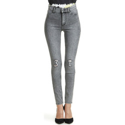 Vêtements Femme Jeans slim Cheap Monday Jeans  High Spray Skinny Gris Femme Gris