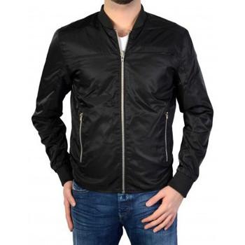 Vêtements Homme Blousons Deeluxe Jacket Reversible S16-606 Bla Gaby Black Noir