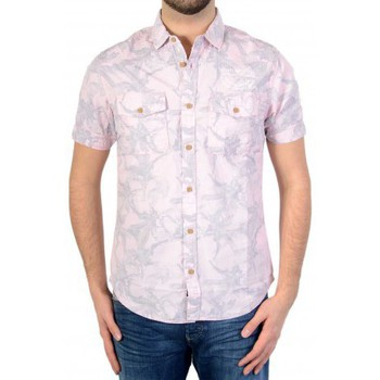 Vêtements Homme Chemises / Chemisiers Petrol Industries Chemise  M-SS16-SIS437 Sunset Pink 327 Rose
