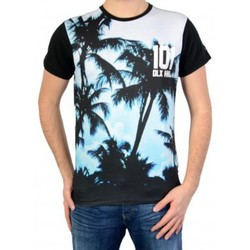 Vêtements Homme T-shirts manches courtes Deeluxe T-shirt S16-178 Luck Blue Bleu