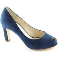 Chaussures Femme Escarpins Malù LES LIEUX chaussures 9000-A denim dcollet sauté Blu