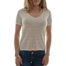 T-shirts manches courtes Grace & Mila tee shirt  joan beige