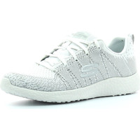 Chaussures Femme Sport Indoor Skechers Burst First Glimpes Blanc