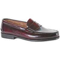 Chaussures Homme Mocassins Castellanos Artesanos  Rouge