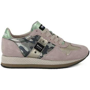 Chaussures Femme Baskets basses Blauer RUNNING CAMOUFLAGE Multicolore