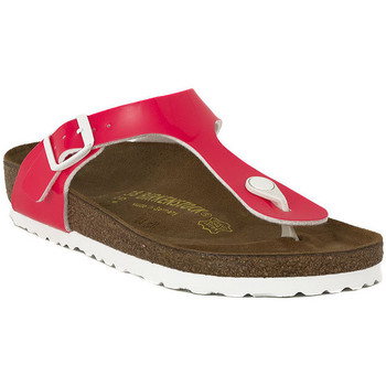 Chaussures Femme Tongs Birkenstock GIZEH NEON YELLOW Rosa