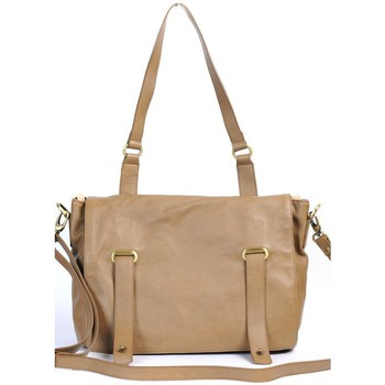 Sacs Femme Cartables Very Bag Street SAC CARTABLE CUIR  TAUPE Marron