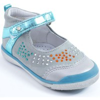 Chaussures Fille Ballerines / babies Babybotte Babies  Fille gris STRASSY gris