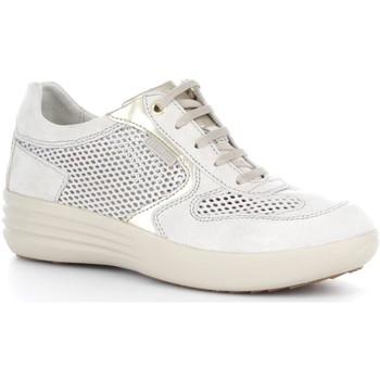 Stonefly 106215 Basket Femme Off White Off White - Chaussures Baskets basses Homme