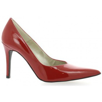 Chaussures Femme Escarpins Brenda Zaro Escarpins cuir vernis rouge