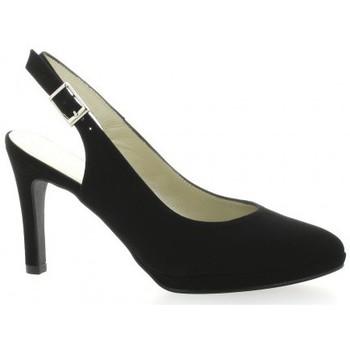 Chaussures Femme Sandales et Nu-pieds Brenda Zaro Escarpins cuir velours Noir