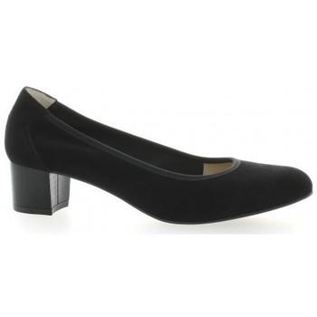 Chaussures Femme Escarpins Brenda Zaro Ballerines cuir velours Noir
