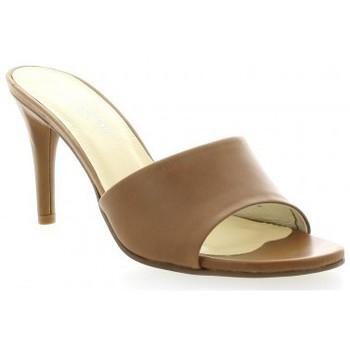 Chaussures Femme Sandales et Nu-pieds Elizabeth Stuart Mules cuir Marron