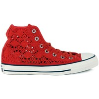 Chaussures Baskets montantes Converse ALL STAR HI  CROCHET Rosso