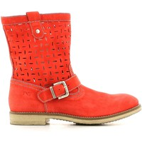 Chaussures Fille Boots Nero Giardini P430440F Bottes Enfant Rouge Rouge
