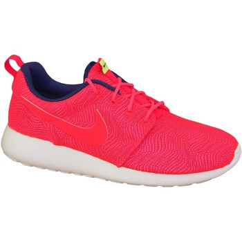 Chaussures Femme Baskets mode Nike Roshe One Moire Wmns 819961-661 Red