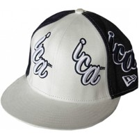 Casquettes New Era Casquette  59 fifty ICA White denim