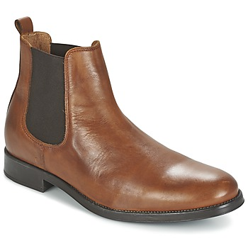 Bottines / Boots Selected SHDOLIVER CHELSEA BOOT NOOS Cognac 350x350