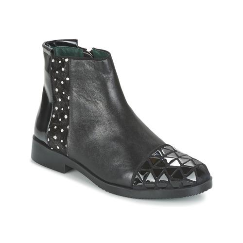Chaussures Femme Boots Café Noir BARTHY Noir