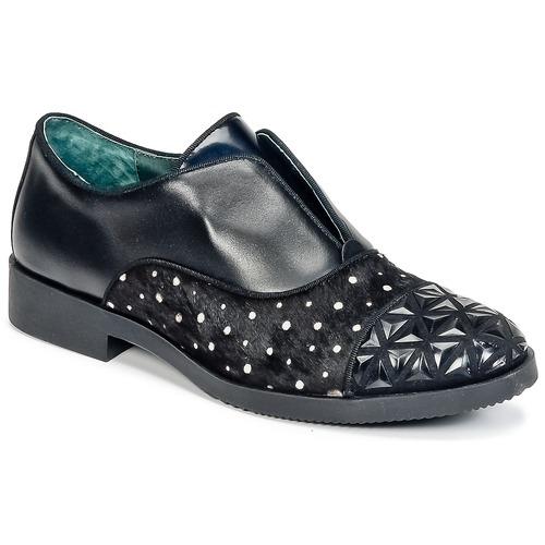 Chaussures Derbies Café Noir Basile Femme WBoxderC