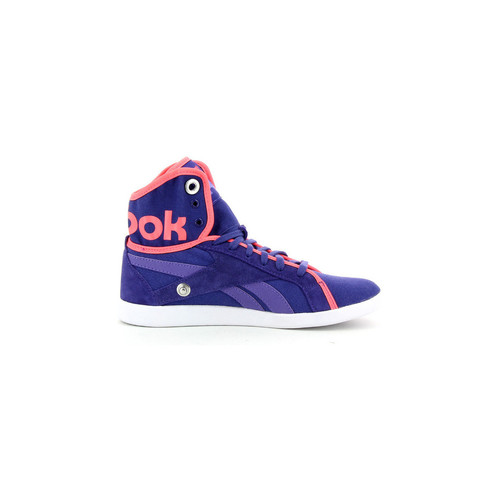 Chaussures Femme Baskets montantes Reebok Sport Top Down Snaps Violet