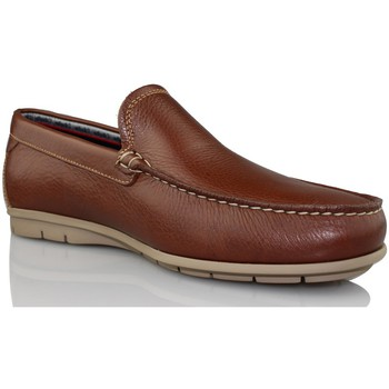 Chaussures Homme Mocassins CallagHan FREE HORSE BRUN
