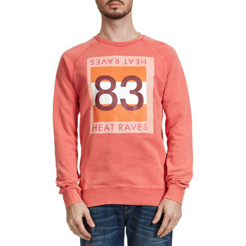 Vêtements Homme Sweats Scotch & Soda Sweat Shirt Scotch&soda Rose Homme Rose