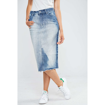 Jupes Cheap Monday Jupe  Bleach Bleu Femme