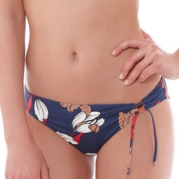 Vêtements Femme Maillots de bain séparables Huit Bas de bikini Private marine Bleu