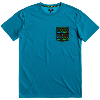 Vêtements Homme T-shirts manches courtes DC Shoes Space port crew blue