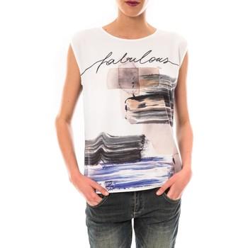 Vêtements Femme T-shirts manches courtes Little Marcel Tee shirt Timoti Noir Noir
