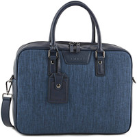 Sacs Homme Porte-Documents / Serviettes Etrier Porte-documents 1 compartiment + PC 14'' MANHATTAN LIGHT 709-0EM MARINE