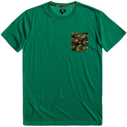 Vêtements Homme T-shirts manches courtes DC Shoes Space port crew bottle green
